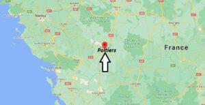 Où se trouve Poitiers
