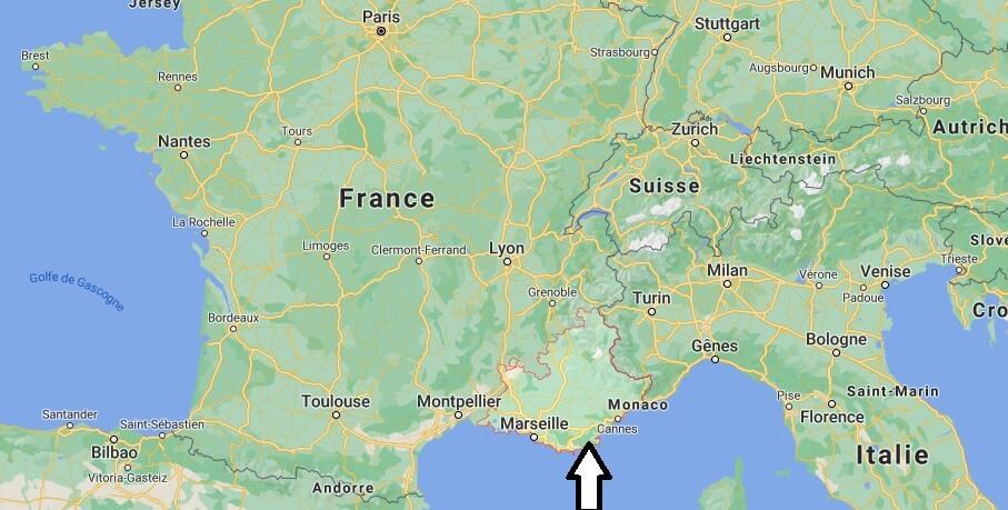 Où se trouve Provence–Alpes–Côte dAzur