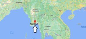 Où se trouve Rangoun
