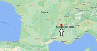 Où se trouve Romans-sur-Isère