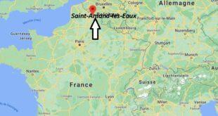 Où se trouve Saint-Amand-les-Eaux