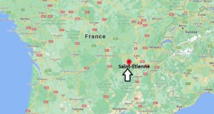 Où se trouve Saint-Étienne