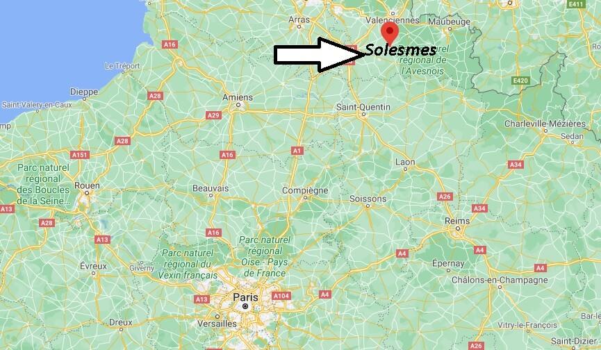 Où se trouve Solesmes