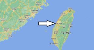 Où se trouve Taichung