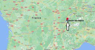 Où se trouve Thonon-les-Bains