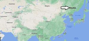 Où se trouve la ville de Harbin