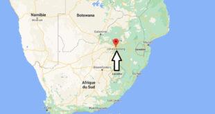 Où se trouve la ville de Johannesburg