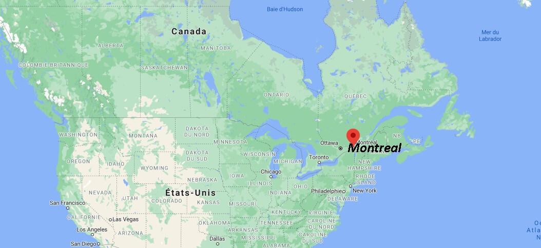 Où se trouve la ville de Montréal