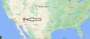 Où se trouve la ville de Phoenix