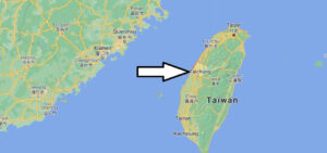 Où se trouve la ville de Taichung