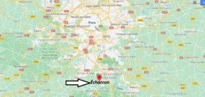 Où se trouve Écharcon sur la carte du monde