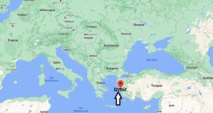 Où se trouve Izmir