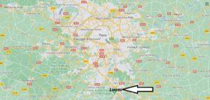 Où se trouve Lisses sur la carte du monde