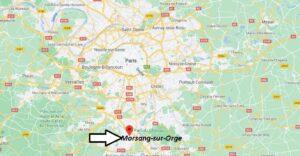 Où se trouve Morsang-sur-Orge sur la carte du monde