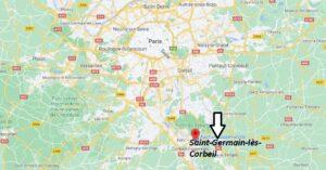Où se trouve Saint-Germain-lès-Corbeil