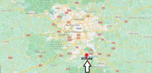 Où se trouve Villabé sur la carte du monde