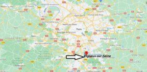 Où se trouve la ville de Vigneux-sur-Seine