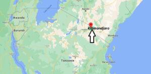 Où se trouve le kilimandjaro