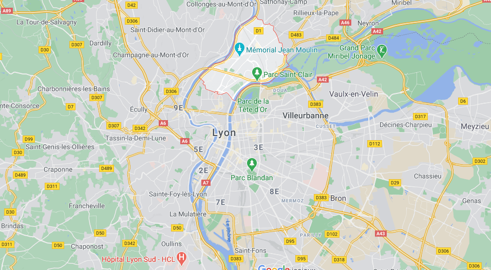 Caluire-et-Cuire Lyon France
