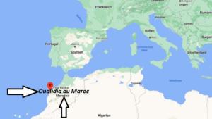 Où se situe Oualidia au Maroc