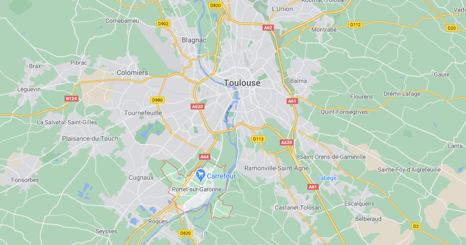 Où se situe Portet-sur-Garonne