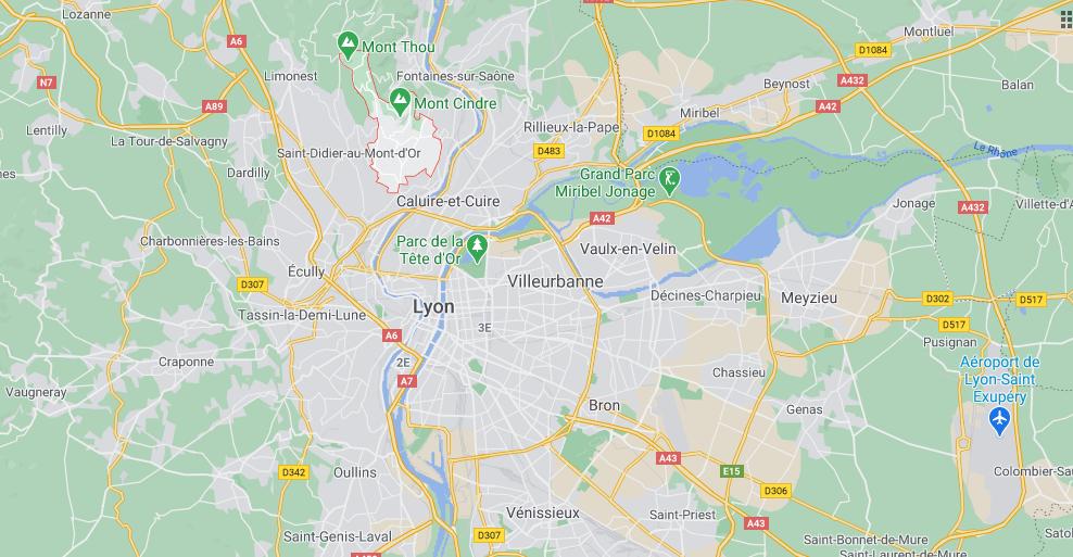 Où se situe Saint-Cyr-au-Mont-dOr