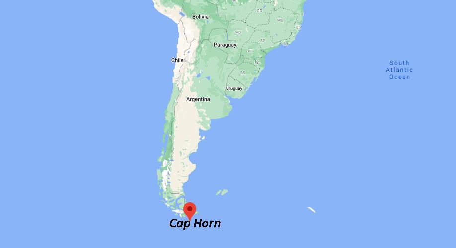 Où se situe le Cap Horn