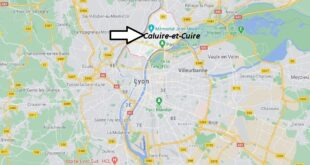 Où se trouve Caluire-et-Cuire