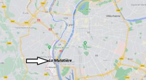 Où se trouve La Mulatière