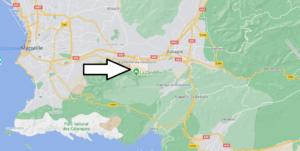 Où se trouve La Penne-sur-Huveaune