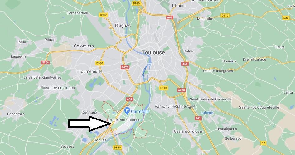 Où se trouve Portet-sur-Garonne
