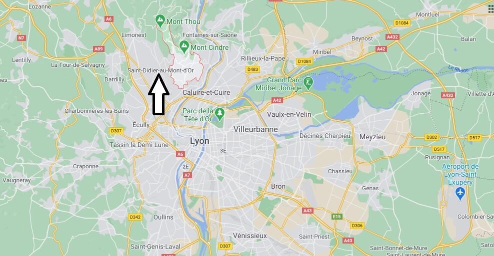 Où se trouve Saint-Cyr-au-Mont-dOr