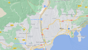 Où se situe Gattières (Code postal 06510)