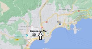 Où se trouve Cagnes-sur-Mer