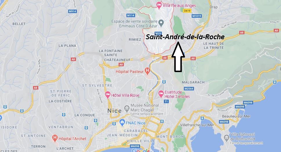 Où se trouve Saint-André-de-la-Roche
