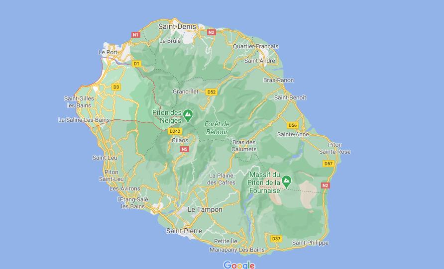 Où se situe Saint-Paul (Code postal 97415)