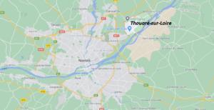 Où se situe Thouaré-sur-Loire