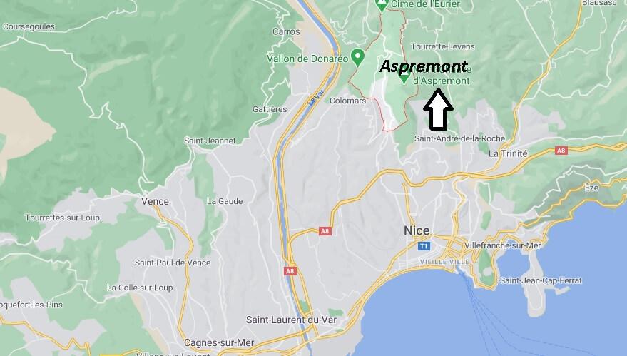 Où se trouve Aspremont