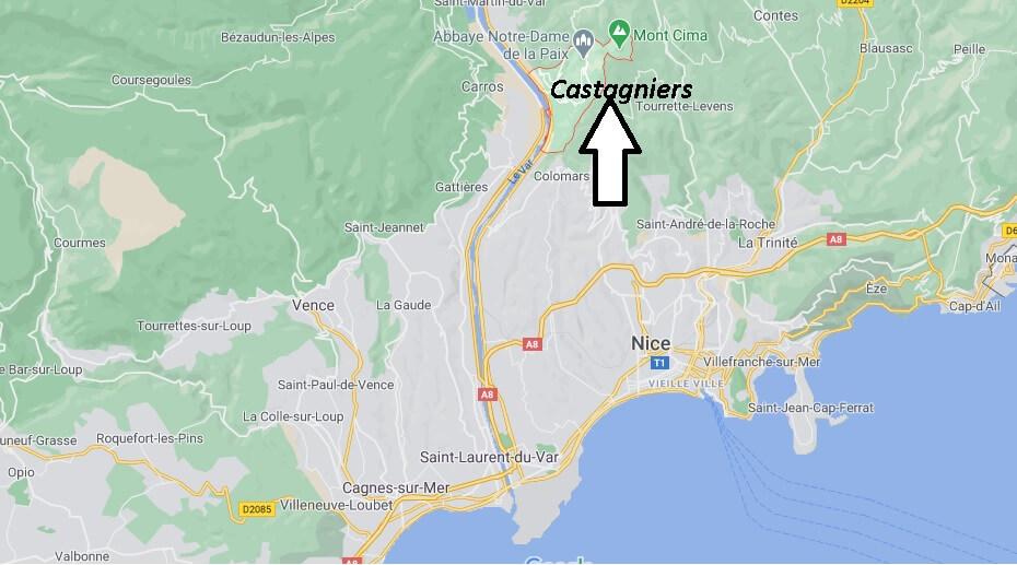 Où se trouve Castagniers