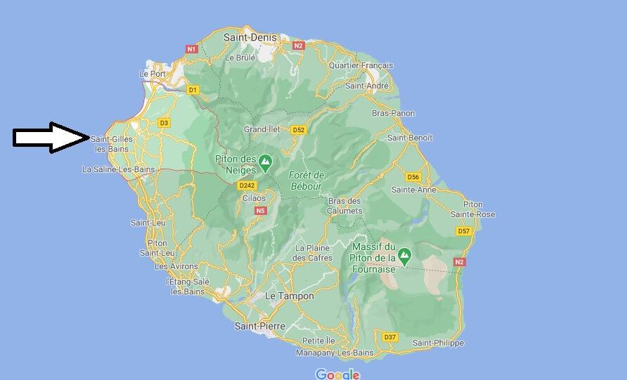 Où se trouve Saint-Paul