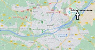 Où se trouve Sainte-Luce-sur-Loire