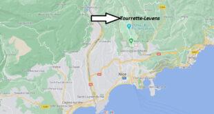 Où se trouve Tourrette-Levens