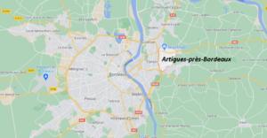 Dans quelle région se trouve Artigues-près-Bordeaux