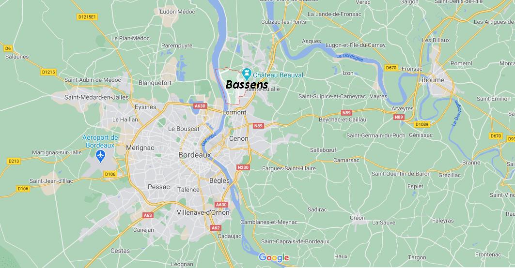 Dans quelle région se trouve Bassens