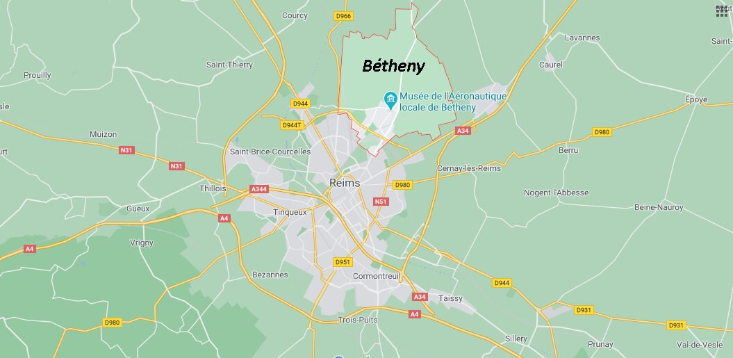 Dans quelle région se trouve Bétheny