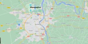 Dans quelle région se trouve Blanquefort