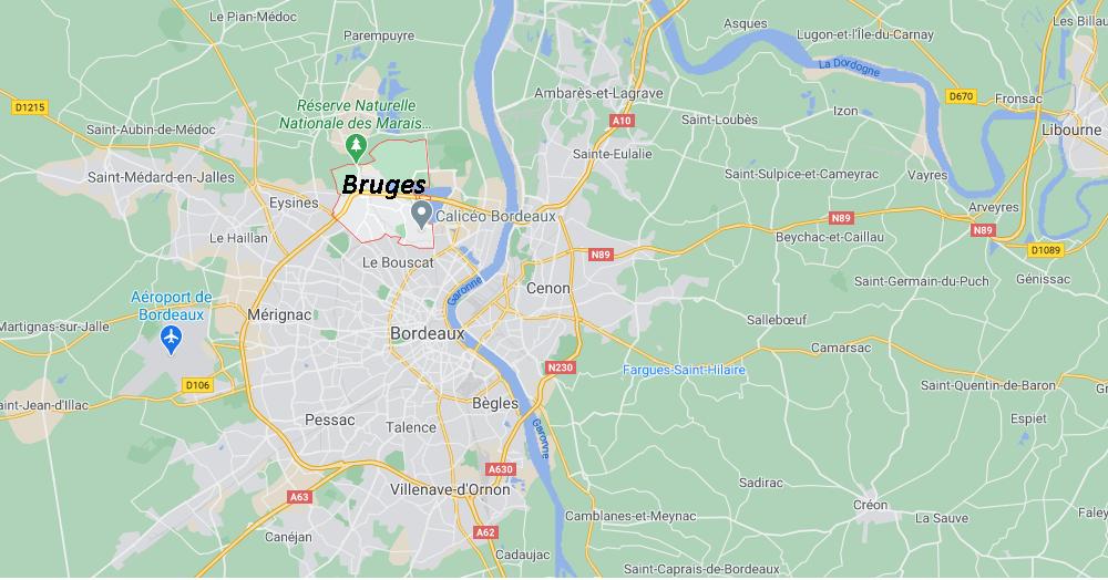 Dans quelle région se trouve Bruges