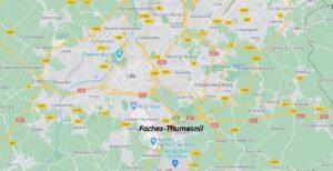 Dans quelle région se trouve Faches-Thumesnil