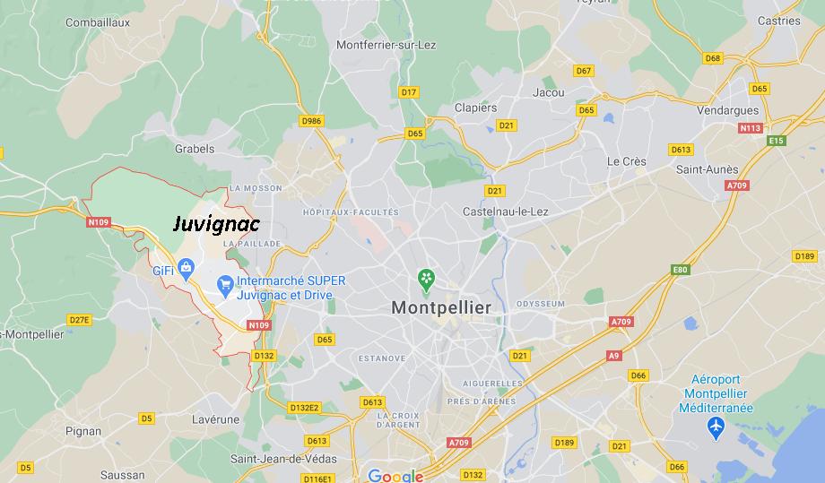 Dans quelle région se trouve Juvignac