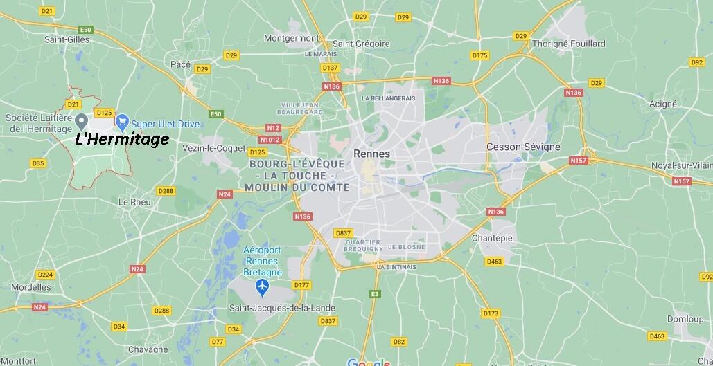 Dans quelle région se trouve L-Hermitage